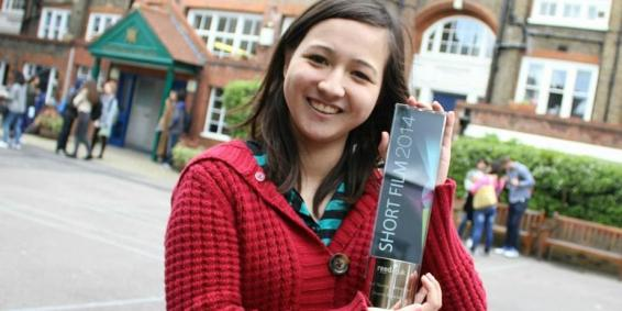 Shiona Penrake – Best Young Filmmaker at Reed Short Film Competition